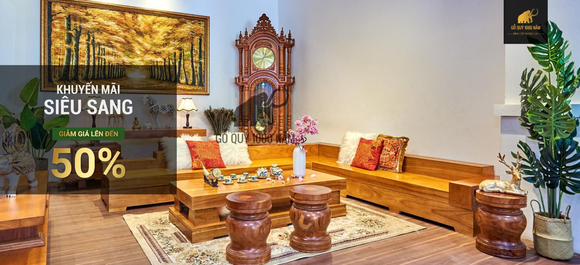 sofa gỗ cẩm, sofa gõ vàng, sofa gõ đỏ