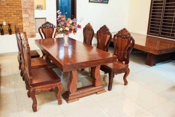 Mua và bày trí bàn ghế phòng khách theo phong thủy