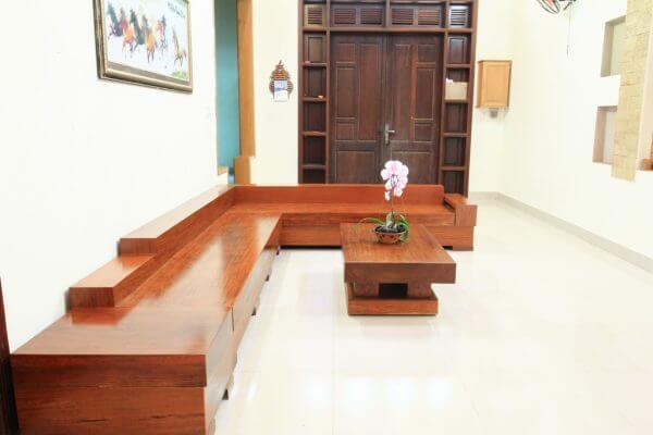 Sofa Gỗ Cẩm SFCC - 001