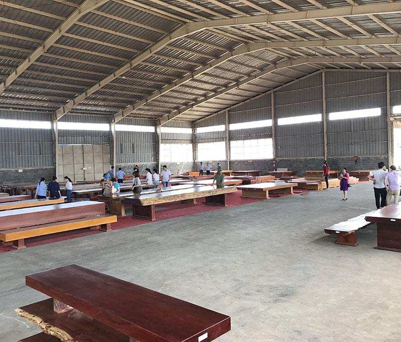 quy trình sản xuất tấm sập gỗ cẩm