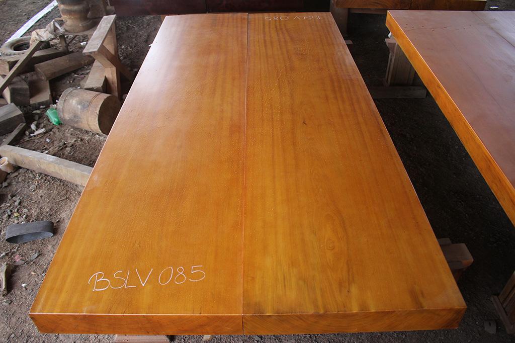 Bộ sập đôi lim vàng nguyên tấm BSLV 085