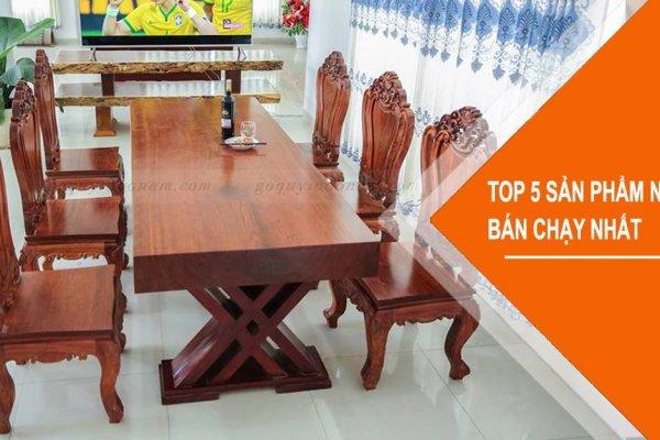 Top 5 sản phẩm nội thất bán chạy nhất