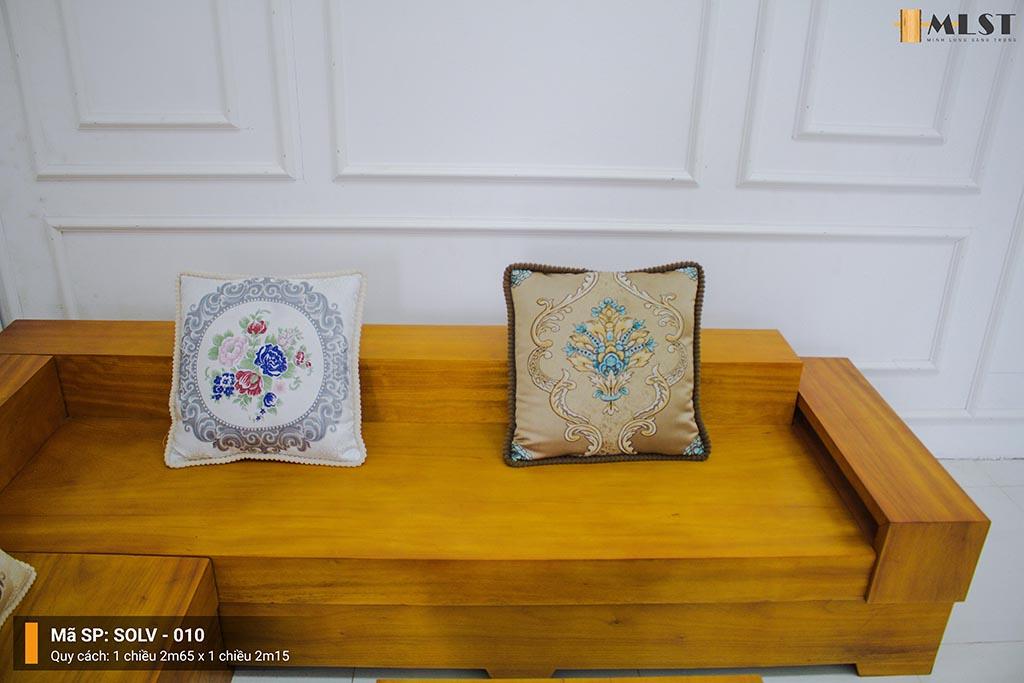 Sofa Lim Vàng  Nguyên Tấm SOLV – 010
