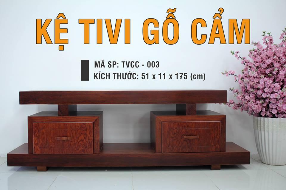 Kệ Ti Vi Nguyên Tấm TVCC – 003