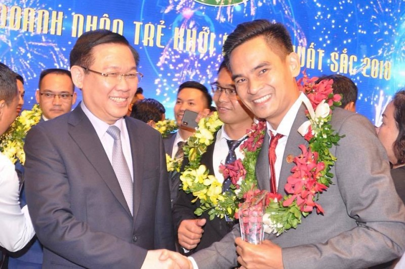 giải thưởng doanh nhân trẻ