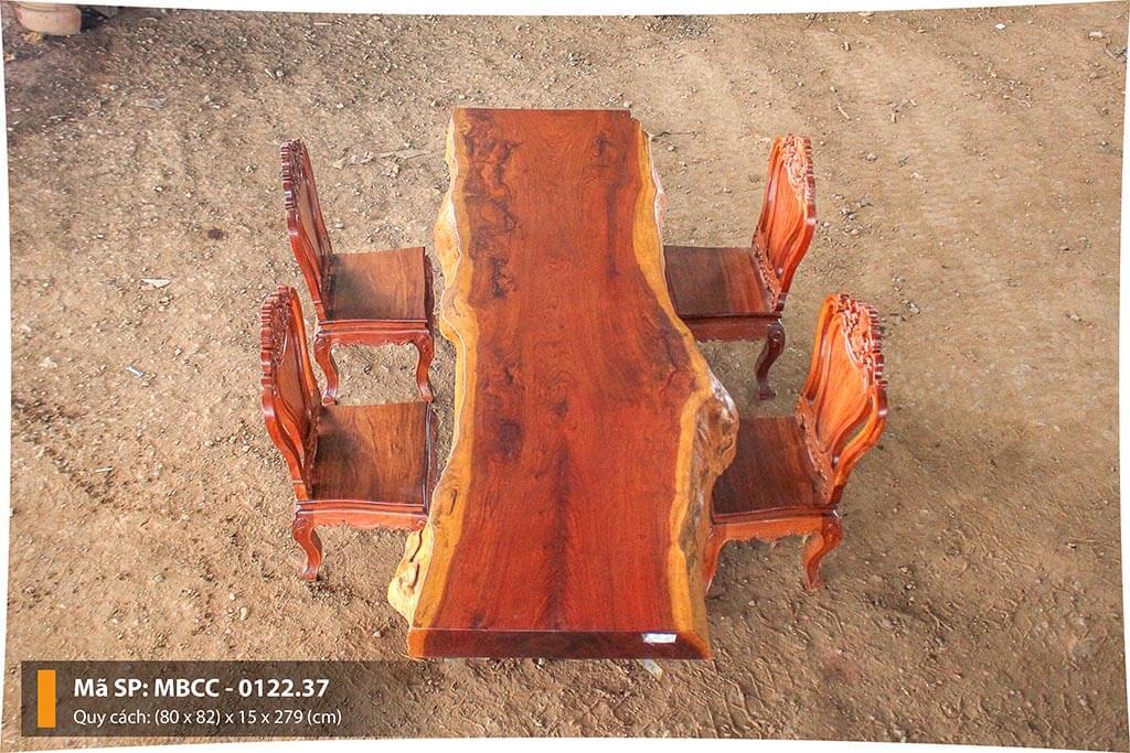 Mặt Bàn Gỗ Cẩm Nguyên Tấm MBCC – 0122.37