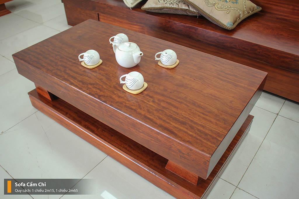 Sofa Cẩm Chỉ Nguyên Tấm Tuyệt Đẹp