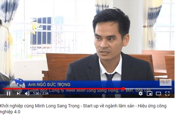 Đài DRT: Khởi nghiệp cùng Minh Long Sang Trọng – Start up về ngành lâm sản – Hiệu ứng công nghiệp 4.0