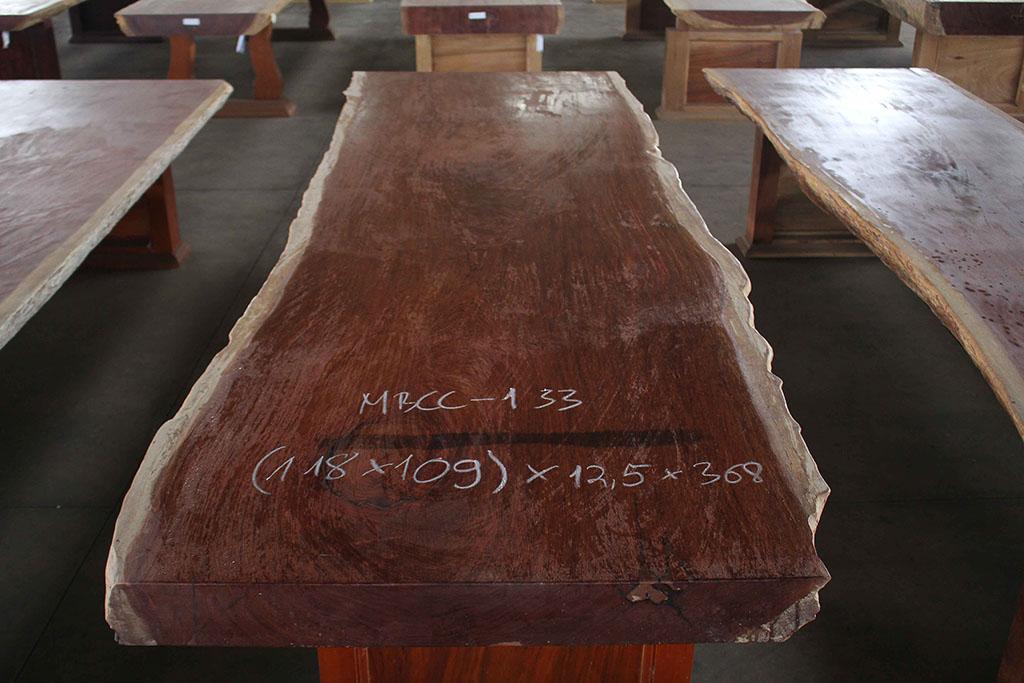 Phôi Mặt Bàn Gỗ Cẩm Nguyên Tấm MBCC – 133 – HP
