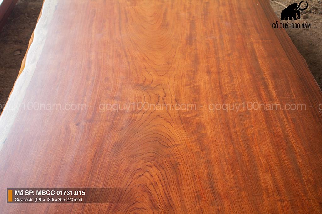 Mặt Bàn Gỗ Cẩm Nguyên Tấm MBCC 01731.015 Loại B – QGNN