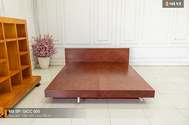 giường gỗ cẩm